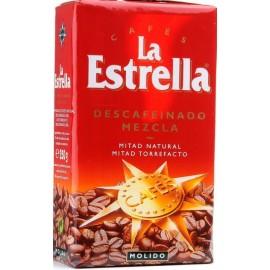 Café Estrella Molido Descafei. 250 Grs