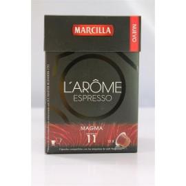 Café L'Or Espresso Magma 10 capsulas Compatible Nespresso