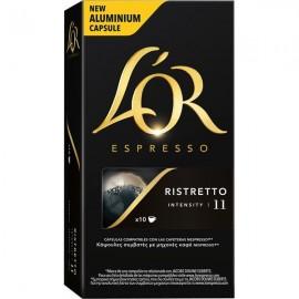 Café L'Or Ristretto 10 capsulas Compatible Nespresso
