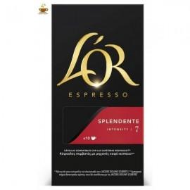 Café L'Or Splendete 10 capsulas Compatible Nespresso