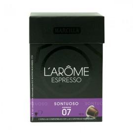 Café L'Or Suntuoso 10 capsulas Compatible Nespresso