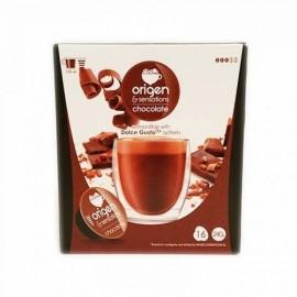 Café Origen 16 Capsulas (compatible Dolce Gusto) Chocolate