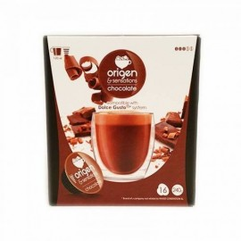 Coffee Origen 16 Capsules (compatible Dolce Gusto) Chocolate