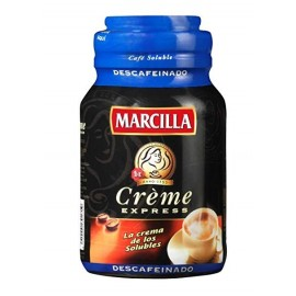 Instant coffee Marcilla Creme decaffeinated 200 Grs