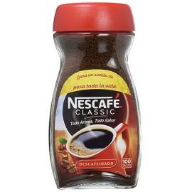Instant coffee Nescafé decaffeinated 200 Grs