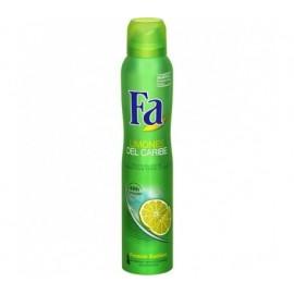 Desodorante Fa Spray Limones Caribe 200 Ml