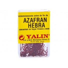 Especias Yalin Azafran Pelo Cajita 1 Grs
