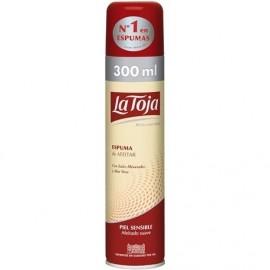 Shaving foam La Toja Sensible 250 Grs