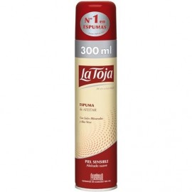 Shaving foam La Toja Sensible 250 Grs