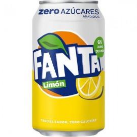 Fanta Limon Zero 33 Cl pack 8
