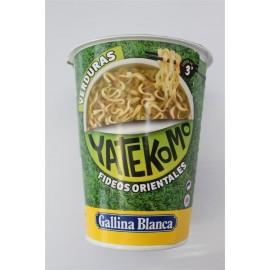 Fideos Yatekomo Vaso Verduras 59 Grs