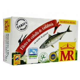 Filete Caballa Mr Aceite 120 Grs