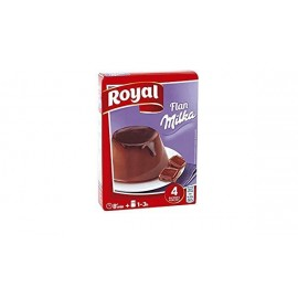 Flan Royal Chocolate Milka 115 Grs