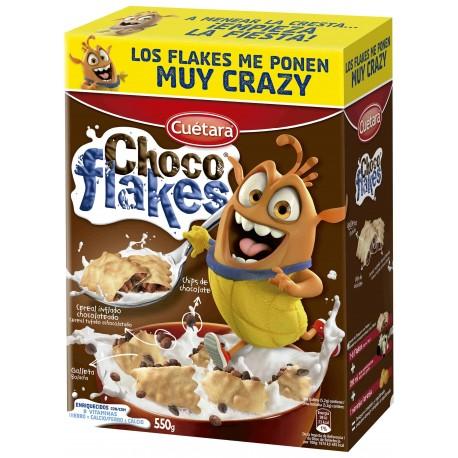 Biscuits Cuetara Cereales Choco-flackes 550 Grs