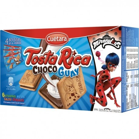 Biscuits Cuetara Tosta-rica Chocoguay 168 Grs