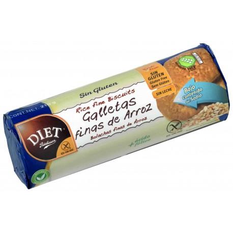 Galletas Finas Arroz Sin Gluten Diet Radisson 210 Grs