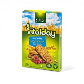 Galletas Gullon Vitalday 5 Cereales-frutos Rojos 240 Grs