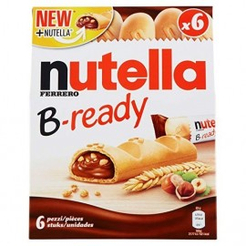 Biscuits Nutella B-ready 132 Gr 6 Units