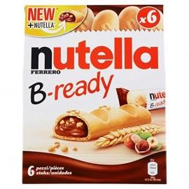 Galletas Nutella B-ready 132 Gr 6 Unidades