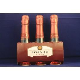 Castellblanch Rosé Sweet Benjamin Cava Pk-3 200Ml