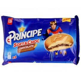 Galletas Principe Bizcocho Soft&choc 180 Grs