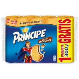 Galletas Principe Chocolate Pk-3 300 Grs