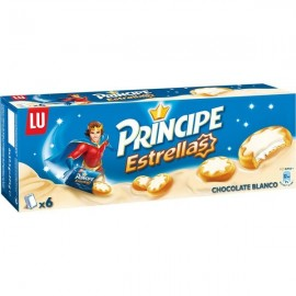 Biscuits Principe Estrella White Chocolate