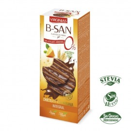 Biscuits Virginias Sugra free B-San Choco-Orange