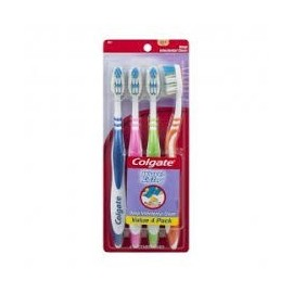 Colgate Extra Clean Toothbrush Pk 4