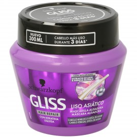 Gliss Smooth Asiatic Hair Mask 300Ml