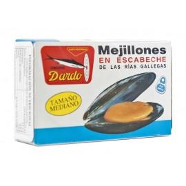 Mejillones Dardo Medianos Ol-120 Grs