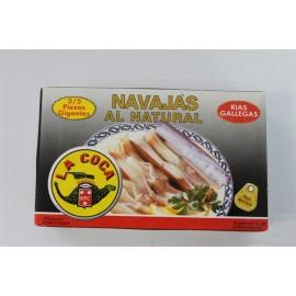 Navajas La Coca Rias 3-4 Unidades 180 Grs
