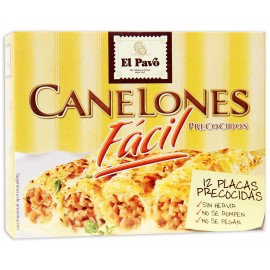 Cannellonis Pasta El Pavo precooked 12 units