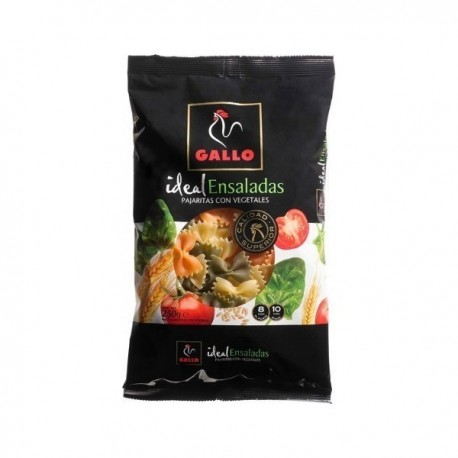 Pasta Gallo Vegetables Helices 250 Grs