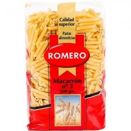 Pasta Romero Macarrones 500 Grs