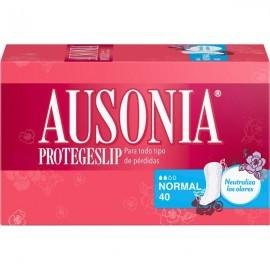 Protege-slip Ausonia 40 Unidades Anatomia