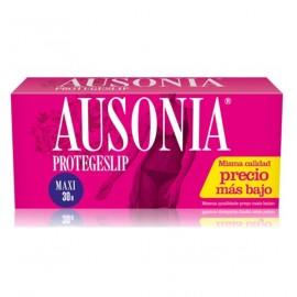 Protege-slip Ausonia Maxi 30 Unidades