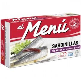 Small Sardines El Menu Spicy 90 Grs