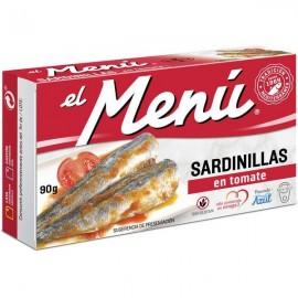 Small Sardines El Menu Tomato 90 Grs