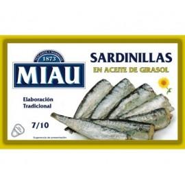 Sardinillas Miau A.ceite Vegetal 90 Gr