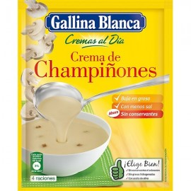 Soup Gallina blanca mushrooms