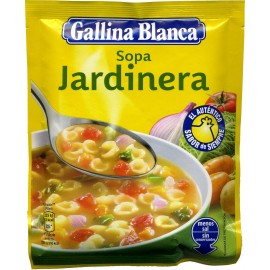 Soup Gallina blanca Jardinera