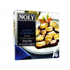 Tacos Al Estilo Pulpo Noly Aceite Ro-120 Grs