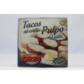 Tacos Al Estilo Pulpo Orbe Ajillo 280 Gr