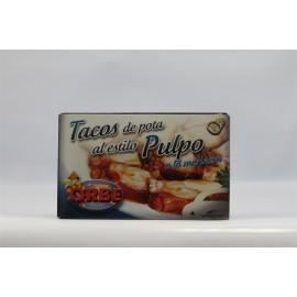 Tacos Al Estilo Pulpo Orbe Salsa 120 Grs
