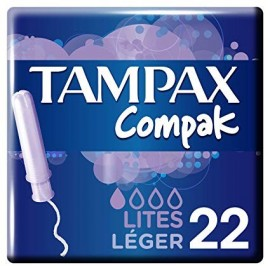 Tampons Tampax Compack Lites 22 Units