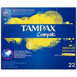 Tampones Tampax Compack Regular 22 Unidades