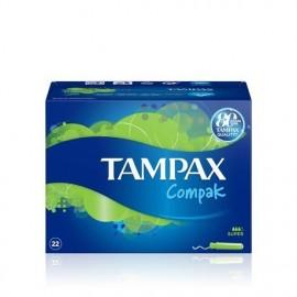 Tampones Tampax Compack Super 22 Unidades