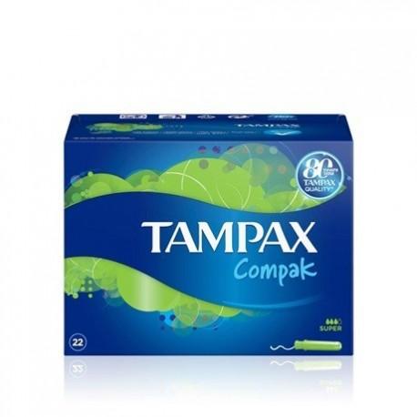 Tampons Tampax Compack Super 22 Units