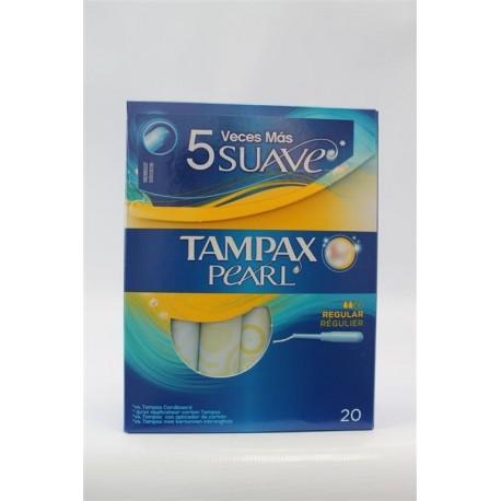 Tampones Tampax Pearl Regular 24 Unidades